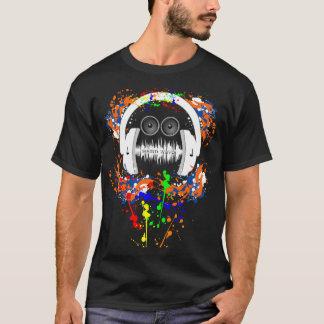 Camiseta Homem da música das ondas sadias