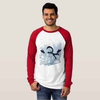 Camiseta Homem da neve