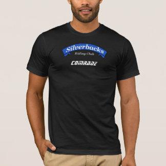 Camiseta homem da obscuridade do camarada