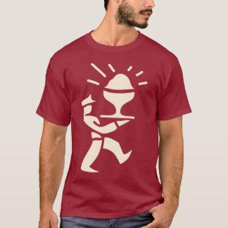 Camiseta Homem de creme do PC (batata frita)
