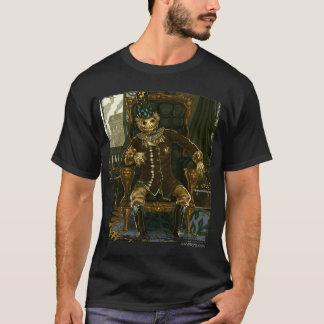 Camiseta Homem de palha amortizado (escuro)