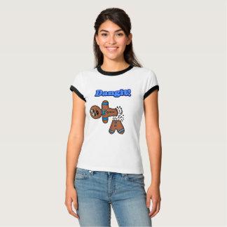 Camiseta Homem de pão-de-espécie de Dangit