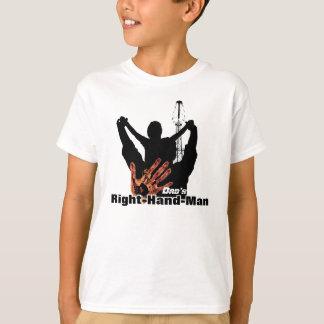 Camiseta Homem de righthand do pai do campo petrolífero