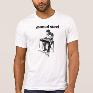 Camiseta Homem do aço do pedal