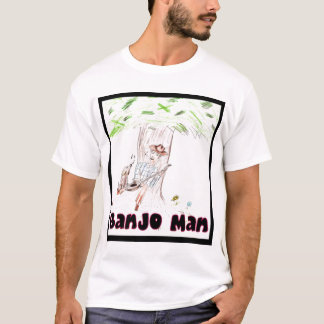Camiseta Homem do banjo