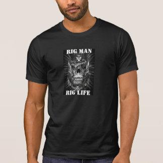 Camiseta Homem do equipamento, vida do equipamento