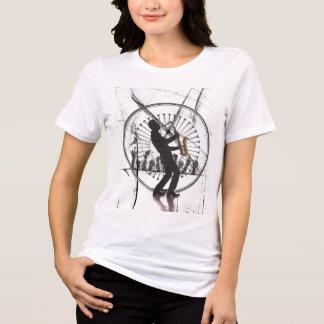 Camiseta homem do saxofone