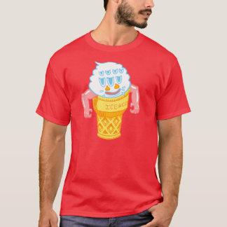 Camiseta Homem do sorvete