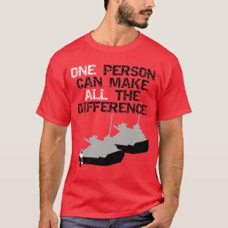 Camiseta Homem do tanque de Tiananmen