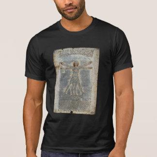 Camiseta Homem do Vitruvian de da Vinci
