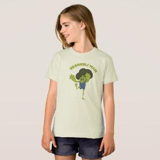 Camiseta Homem dos brócolos