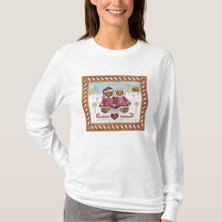 Camiseta Homem e mulher de pão-de-espécie