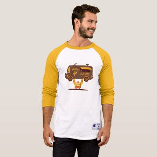 Camiseta Homem forte de Luchador