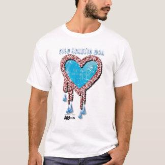 Camiseta Homem Hearted frio