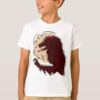 Camiseta Homem-lobo com fome