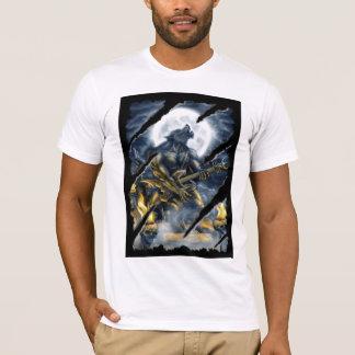 Camiseta Homem-lobo do metal pesado