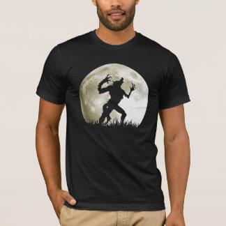 Camiseta Homem-lobo na Lua cheia - o Dia das Bruxas legal