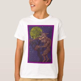 Camiseta Homem-lobo Slobbering