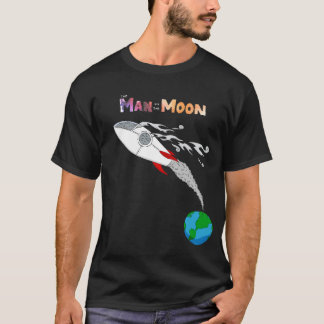 Camiseta Homem na lua