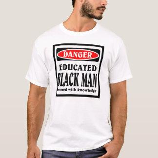 Camiseta Homem negro educado