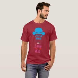 Camiseta Homem pequeno ou senhorita pequena - o género