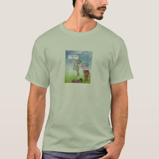 Camiseta homem praying