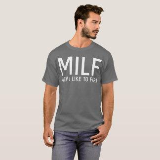 Camiseta Homem que eu gosto de fart o humor da cara