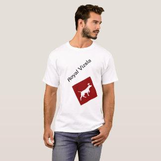 Camiseta Homem real do t-shirt de Vizsla