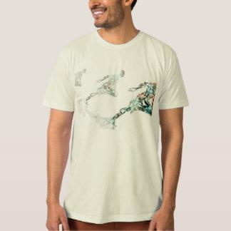 Camiseta Homem Running para o negócio e a tecnologia dos