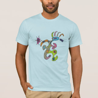 Camiseta Homem Running, t-shirt abstrato