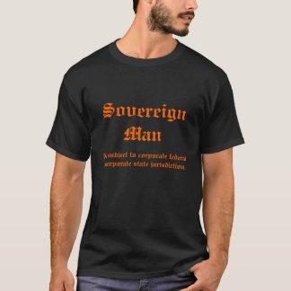 Camiseta Homem soberano nao sujeito a federal incorporado