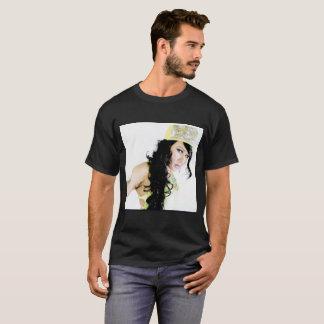 Camiseta Homem T da menina de Gangsta