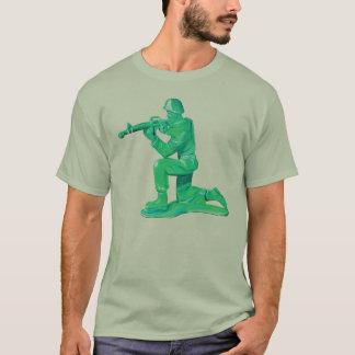 Camiseta Homem verde do exército