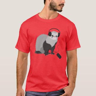 Camiseta Homens da doninha do melómano