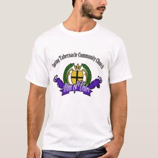 Camiseta Homens da valentia projetados pelo ébano por muito