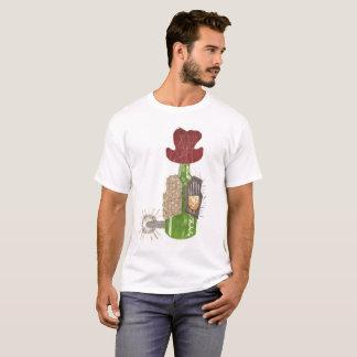 Camiseta Homens do fundo da garrafa vaqueiro o t-shirt de