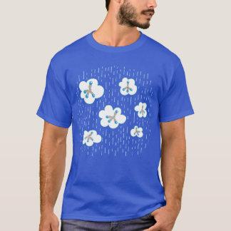 Camiseta Homens do geek da química das nuvens e das