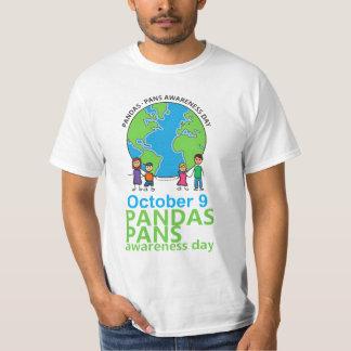 Camiseta Homens do t-shirt do dia da consciência de