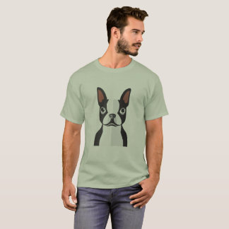 Camiseta Homens do Tshirt de Boston Terrier