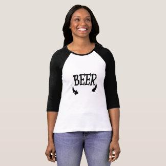 Camiseta Homens engraçados do bebê da cerveja que combinam