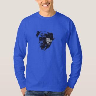 Camiseta Homens longos da luva/camisa unisex do nanowatt do
