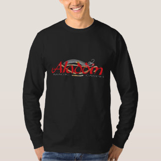 Camiseta Homens mágicos do tapete de Aladdin 3/4 de jérsei