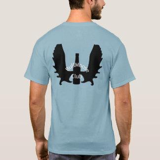 Camiseta Homens padrão T do clube de BullMoose