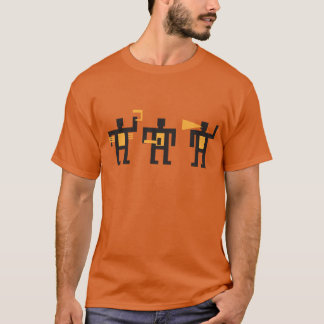 Camiseta homens pequenos do estilo do constructivist