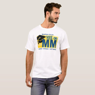 Camiseta Homens sim no milímetro para o t-shirt de