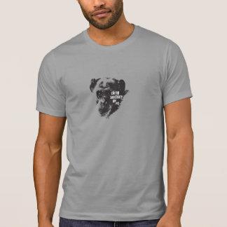 Camiseta Homens/t-shirt unisex com imagem do chimpanzé de