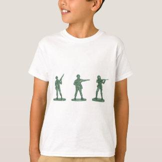 Camiseta Homens verdes do exército