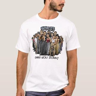 Camiseta Homies é você para baixo?
