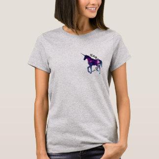 Camiseta Honesta T do unicórnio de Aine