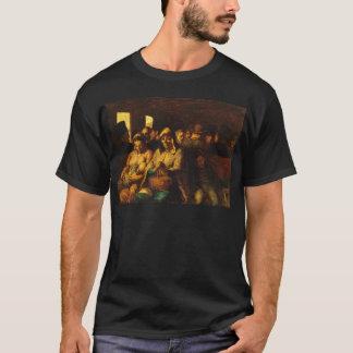 Camiseta Honoré Daumier a carruagem do Terceiro-Class